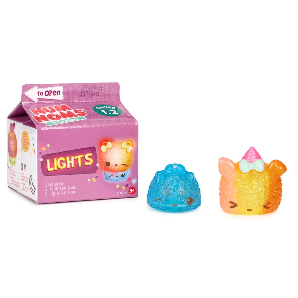 Num Noms Series 1.2 Lights Mystery Blind Pack Full Case of �36 Sealed Cartons