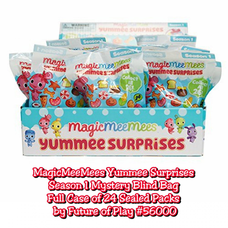 MagicMeeMees Yummee Surprises Season 1 Mystery Blind Bag Full Case of �24 Packs