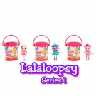 Lalaloopsy Series 1 Minis Doll + Surprise Mystery Blind Paint Cans ×11 Sealed Packs - #546542