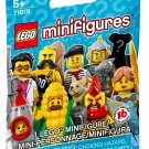 Limited Edition Series LEGO Minifigures Series 17 #71018 Mystery Blind Bag x40 Packs Building Toy