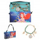 Disney The Little Mermaid Ariel Charm Wrist Watch by Accutime Watch