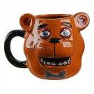 Five Nights At Freddy's FNAF Freddy Fazbear Molded Ceramic Mug by Bioworld