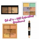 NYX Cosmetics Wonder Stick Highlight & Contour Conceal, Correct, Contour & Color Correcting Palette