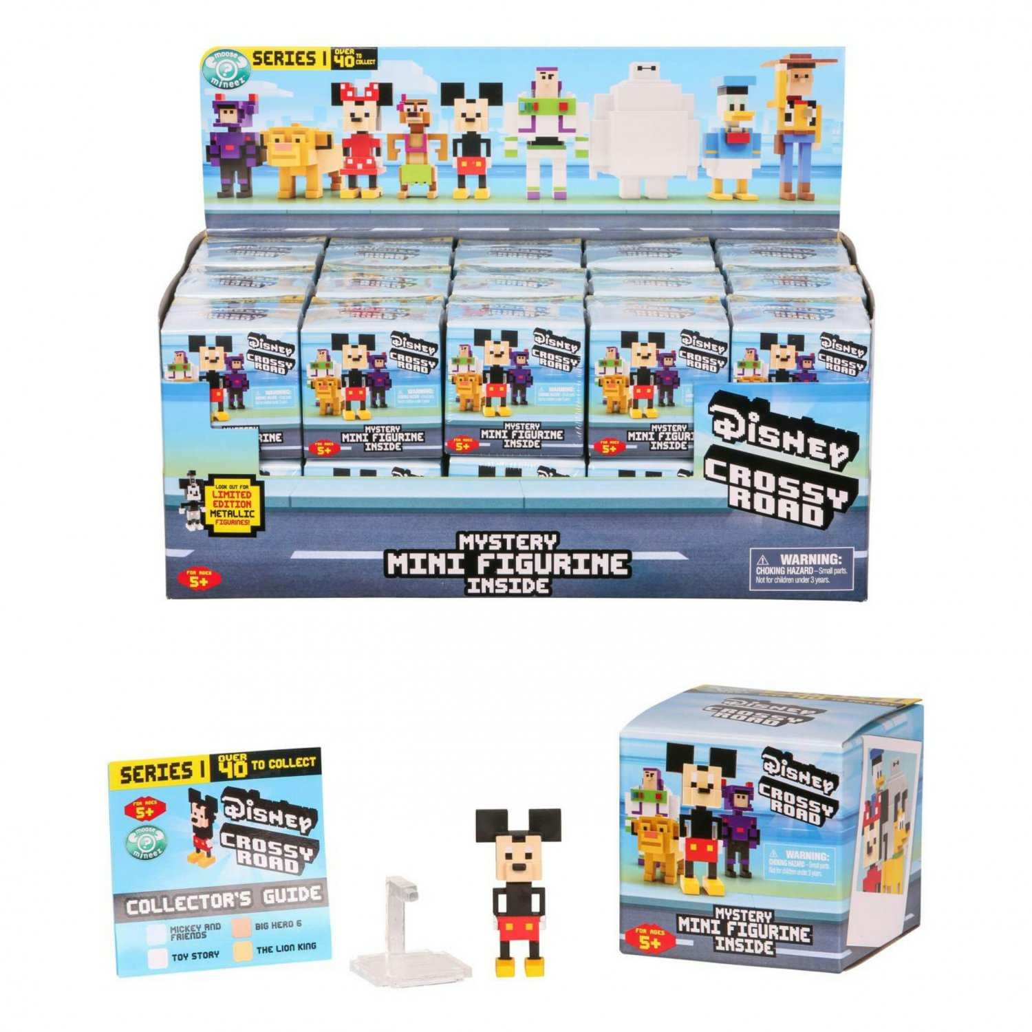 Disney Crossy Road Mystery Mini Figurine Single Blind Packs Case of �30 Sealed Boxes by Moose Toys