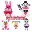 Funko Five Nights At Freddy's Plush Set Sister Location Bonnet Foxy Freddy Bollora Baby