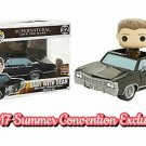 "FUNKO Supernatural POP! Rides Baby Impala w/ Dean 6"" Figure 2017 Summer Convention Exclusive SDCC"