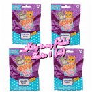 Kitty in my Pocket Collectible Figure Series 1 Mystery Blind Bag ×4 Sealed Packs by Just Play