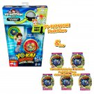 Yokai Watch Model Zero + Series 1 Yo-Motion Medal Mystery Blind Bag ×5 Sealed Packs by Hasbro