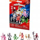 Mega Construx Mega Bloks Power Rangers Series 1 Action Figure Blind Bags ×18 Sealed Packs #DPK62
