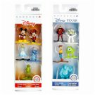 Set of 2 Nano Metalfigs Disney Pixar 5-Pack Figure Collectors Set A & B by JADA Toys