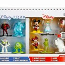 Nano Metalfigs Disney/Pixar 10-Pack Collector's Die-cast Figure Set - #98855 by JADA Toys