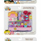 Set of 3 Disney Tsum Tsum Story Pack Playsets Aladdin, Alice in Wonderland, & Lilo & Stitch