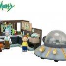 McFarlane Toys Rick & Morty (adult swim) Spaceship & Garage Buildable Construction Set 293 PCS