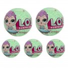 L.O.L. LOL Surprise! Doll Series 2 Let's be Friends 7 Layers By MGA x5 Sealed Packs