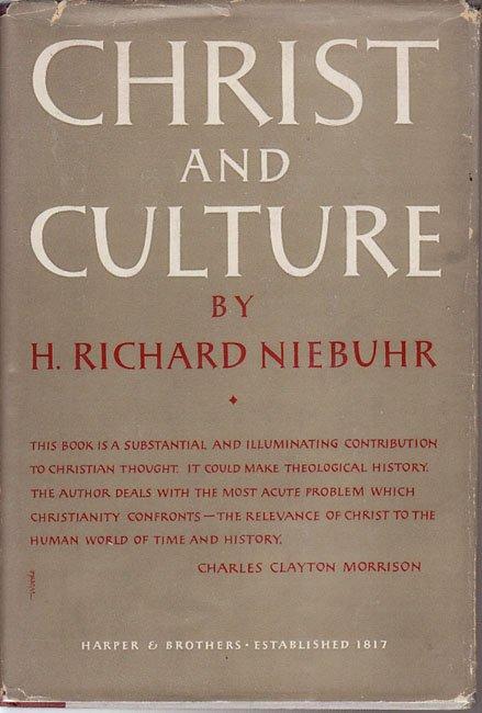h richard niebuhrs dissertation