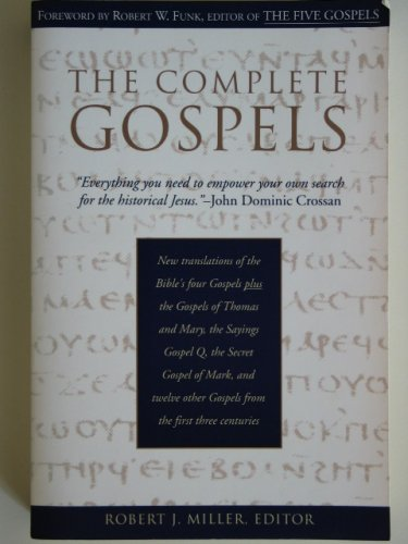 The Complete Gospels � Annotated Scholars Version - Robert J. Miller � softcover