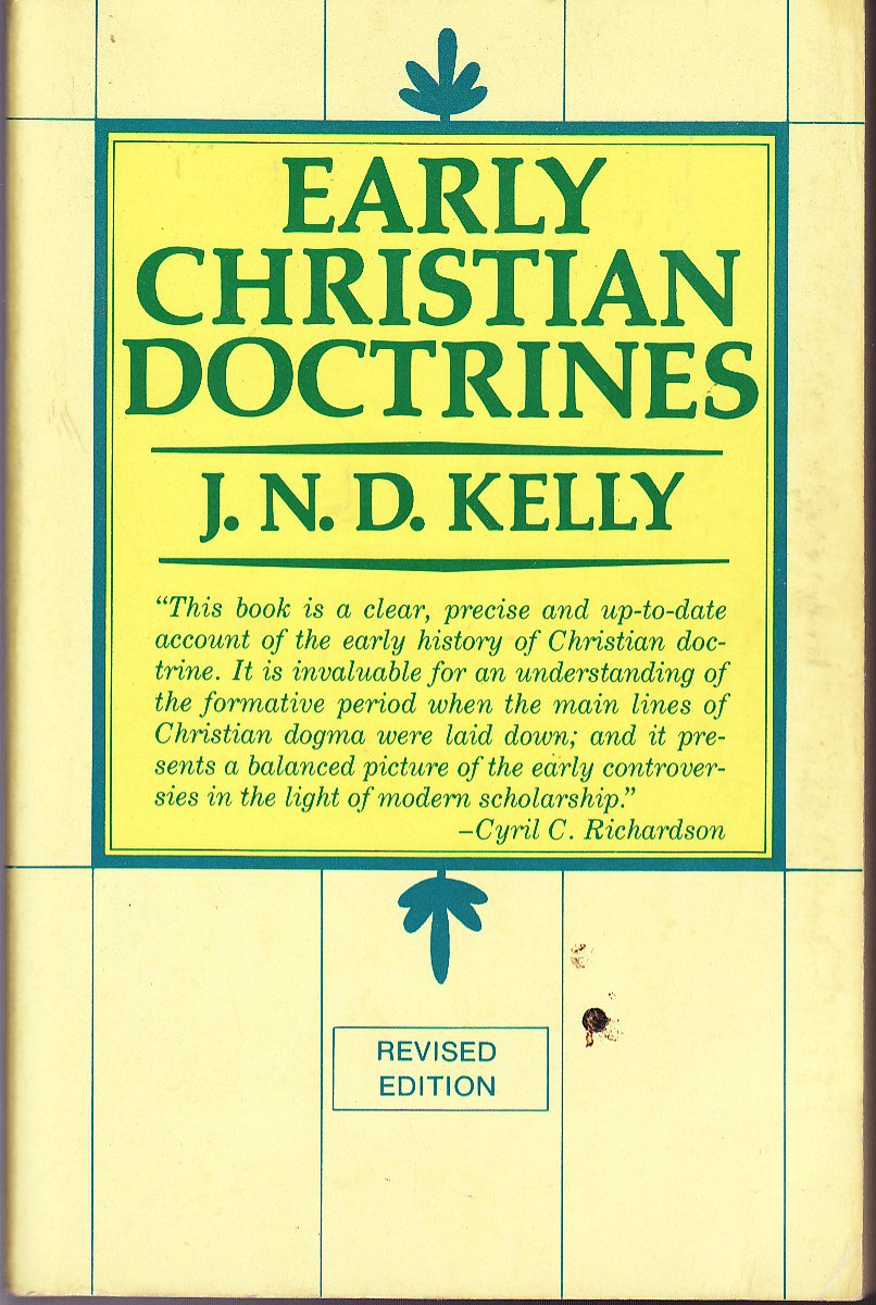 early christian doctrines kelly pdf