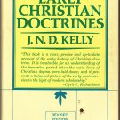 Early Christian Doctrines – J.N.D. Kelly- softcover