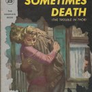 And Sometimes Death by Jo Valentine
