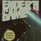 Ender's Game by Orson Scott Card – Author's Definitive Edition 17thPr