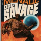 Doc Savage - The Living Fire Menace by Kenneth Robeson