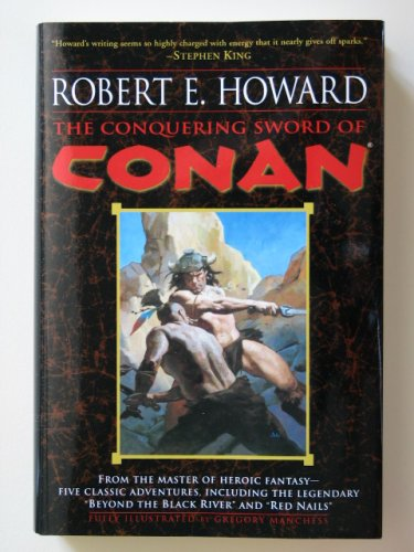 The Conquering Sword of Conan by Robert E. Howard � Hardback BCE