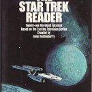 The Star Trek Reader by James Blish – hardback – 21 Novelized Episodes