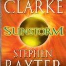 Sunstorm by Arthur C. Clarke and Stephen Baxter – Paperback 1st printing