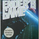 Ender's Game by Orson Scott Card – Paperback Author's Definitive Edition