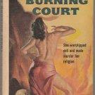 The Burning Court by John Dickson Carr – Bantam Books Paperback – Very Rare
