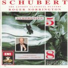 Schubert - Symphonies No. 5 & 8 CD