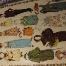 Kate Greenway Antique Embossed Cut Out Paper Dolls (#23)