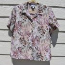 Blair Floral Leaf Blouse Top M Medium 42 Chest CLEARANCE