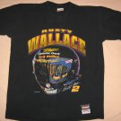 Black Rusty Wallce T-shirt #2 XL 44 Chest Car Racing Helmet