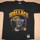Black Rusty Wallce T-shirt #2 XL 44 Chest Car Racing Helmet