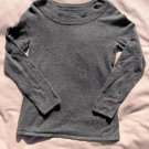 Marisa Christina Sweater S Small Gray Angora Blend Top