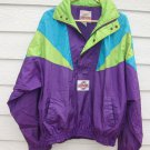Club Beefeater Jacket 1992 56 Inch Chest Wind Breaker Pull Over Bright Hoodie