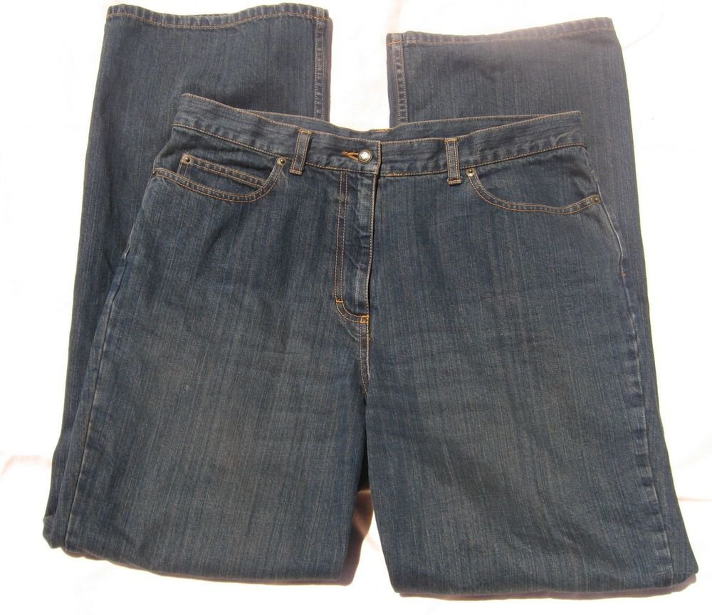 Jeans Will Smith 14 36 Waist Blue Jeans Denim Dark Wash Straight