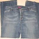 Izod Blue Jeans 14 Distressed Color 37 Waist