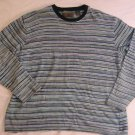 Big Sky Outfitters Sweater XL 51 Chest Striped Crew Neck Pull CLEARANCE