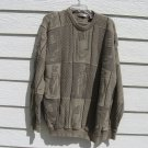Cypress Link Golf Sweater XL 52 Chest Army Green Golf Clubs Texture