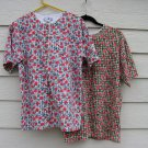 2 White Stag Shirt Medium M 40 Chest Check Gingham Floral Top