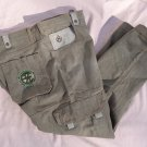Eight 732 Sage Green Cargo Jeans Pants Mfg 42Wx 34L Act 44Wx33L
