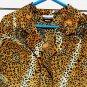 Roberta Di Castelli Blouse 16 50 ChestLeopard Print Silky