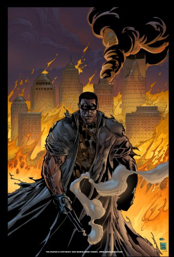The Pauper City on Fire 11x17 Inch Poster by Darkslinger Comics