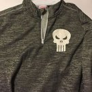 Punisher Mad Engine Marvel Long Sleeve Gray Shirt Size L Brand New