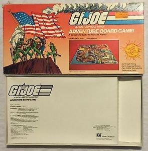 GI Joe Adventure Board Game 1982 Hasbro Number 7035 iGi