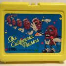 The California Raisins Thermos Brand Yellow Lunch Box 1987