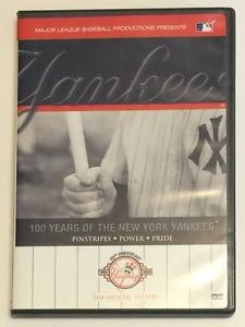 100 Years of the New York Yankees (DVD, 2003, 2-Disc Set)