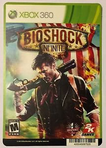 Xbox 360 Bioshock Infinite Blockbuster Artwork Display Card
